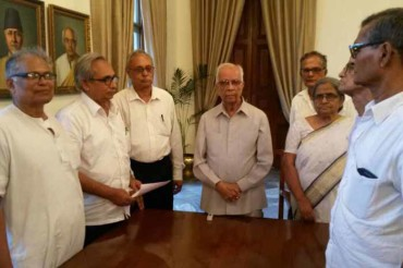 58 Lakhs People signed mass petitions submitted to Governor of West Bengal