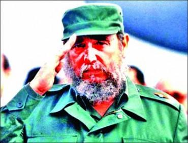 Red Salute Comrade Fidel Castro
