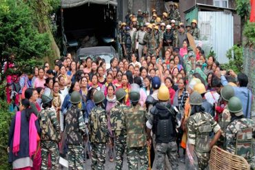 On explosive situation in Darjeeling Hills