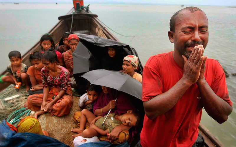 On the explosive Rohingya problem