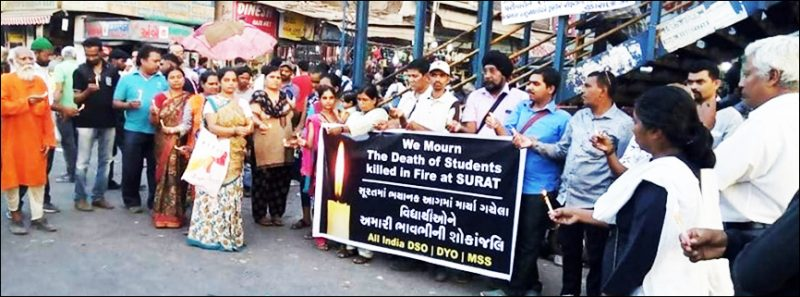 Student Deaths in the Takshashila Fire Tragedy in Surat Mourned and Resented