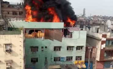On Delhi Fire