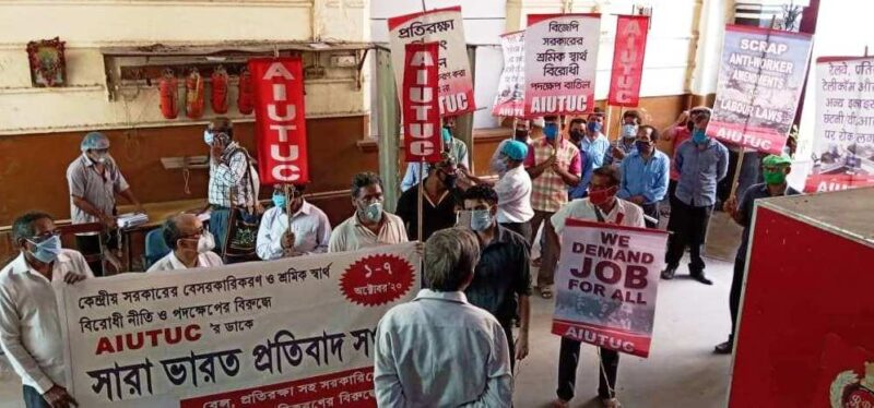 Central Labour Code Bills : A Brutal Attack on the Rights and Security of Workers and Trade unions