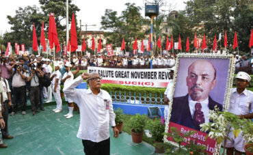 Call of the General Secretary Comrade Pravash Ghosh on the eve of the 103rd anniversary of Great November Revolution