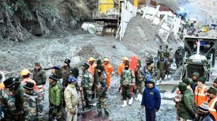 Uttarakhand Glacier Burst A Man-Made Disaster