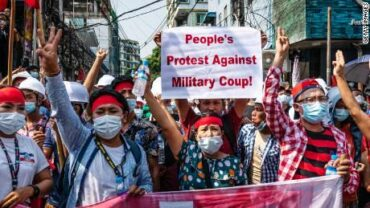 On Recent People's Protest in Myanmar