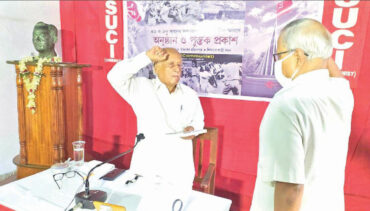 The glory of struggle of Jaynagar will be enshrined in the pages of history in golden letters–Provash Ghosh