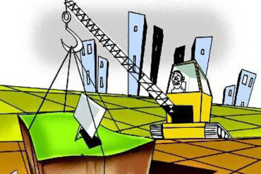 Land being grabbed for realty business