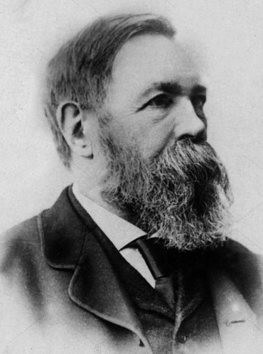 Red Salute Frederick Engels