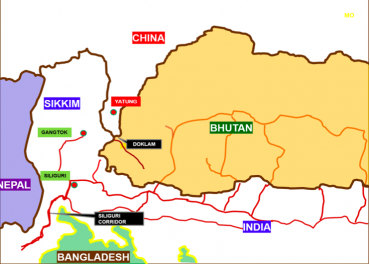Doklam Stand-off :  Demands immediate withdrawal of military by both China and India and dialogues-negotiations to start