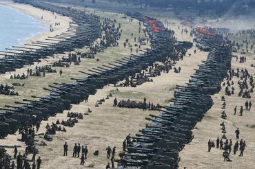 War threat to North Korea (DPRK) : Foil sinister conspiracy of US imperialists to overrun, under false pretext, a country that refuses to bend before their dictates