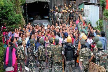 On explosive situation in Darjeeling Hills