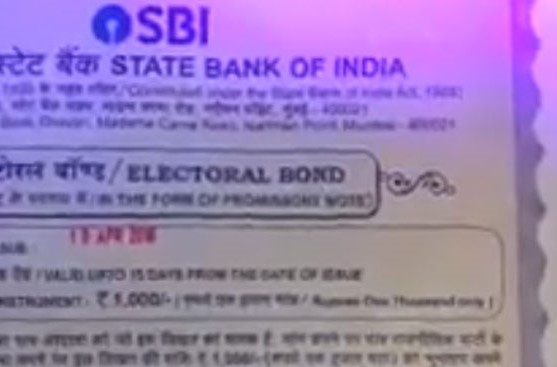 BJP and Electoral Bonds Scheme : Lays bare the putrid skeleton of parliamentary democracy