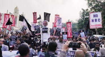 Kolkata reverberated with the slogan MODI GO BACK