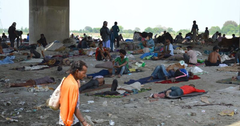 Delhi State SUCI(C) on atrocities on migrant workers