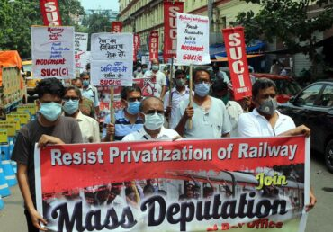 Railway Privatization Spree Shows Indian State is fully Subservient to Monopoly Class Interest
