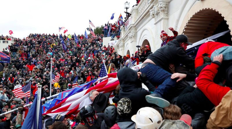Capitol Riot : RICKETY FACADE OF BOURGEOIS DEMOCRACY EXPOSED MORE VIRULENTLY