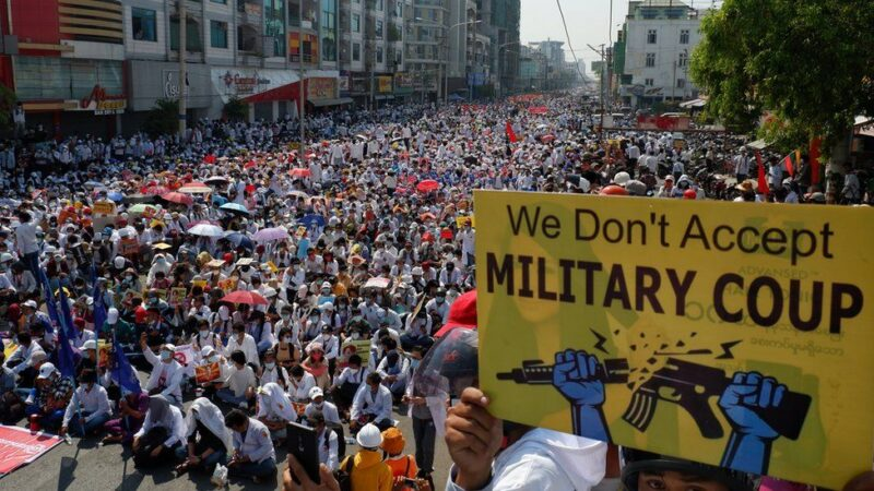SUCI (Communist) vehemently condemns  mass killing of civilians by  Myanmar Military and denounces  Indian participation in a parade of the killers