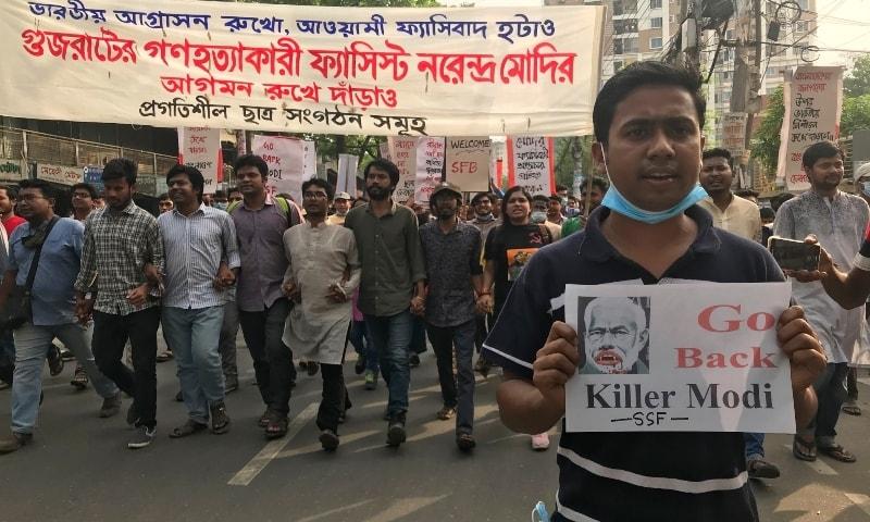 BASAD (Marxist) condemns police firing on anti-Modi protests in Bangladesh