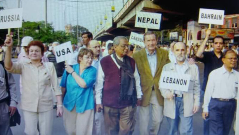 Ramsey Clark, an indefatigable fighter against imperialism and military aggression passes away